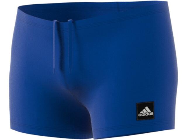 adidas Pro BX Solid Zwemshorts Heren, blauw/wit